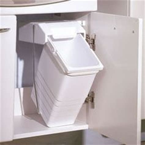 under sink trash can with lid under the sink trash can on pinterest cabinet doors