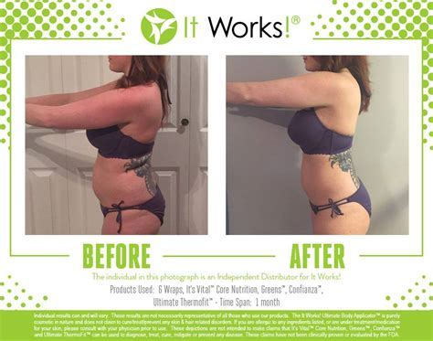 Make My Detox It Works Wrap by See Real Before After Pics Using It Works Wraps