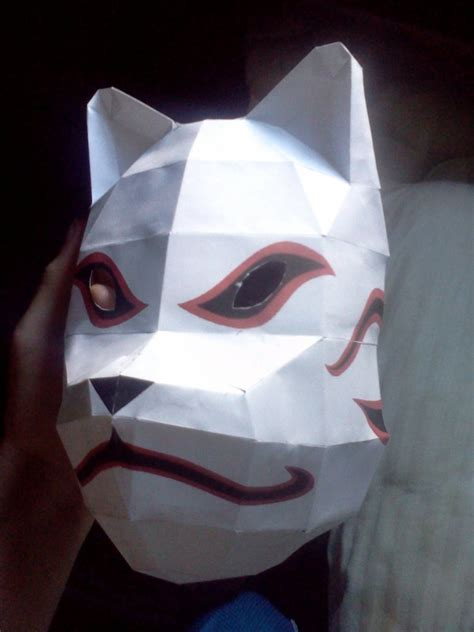 Kakashi Anbu Mask Papercraft - kakashi hatake anbu mask by deadlycreations on deviantart