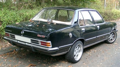 opel commodore b opel commodore technical details history photos on