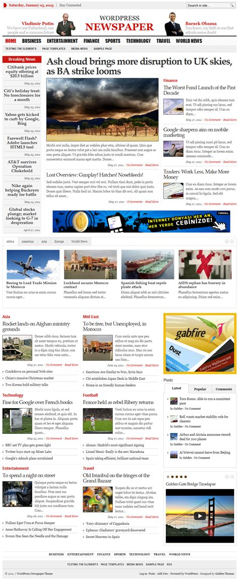 newspaper theme in word best news themes