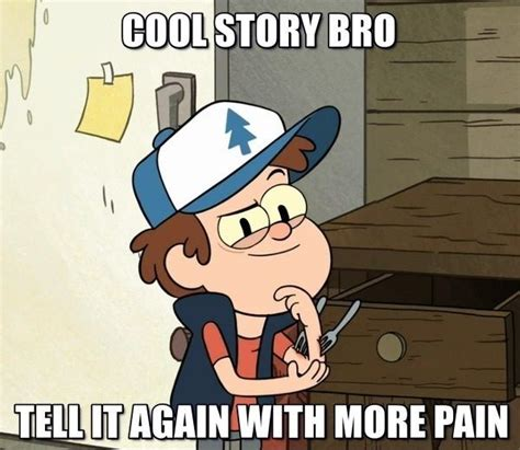 Gravity Falls Memes - a quick meme i made with bipper gravity falls