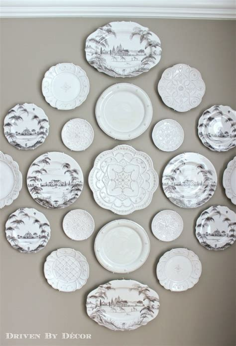 decorative plates wall a new decorative plate wall in our dining room driven by