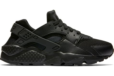 nike air huarache gs shoes black