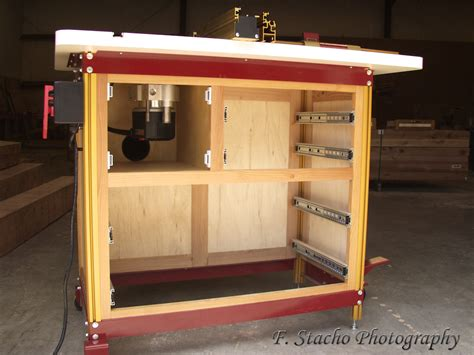 Custom Router Table Cabinet For Incra Ls Positioner