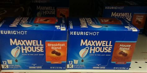 maxwell house  cup coffee packs   family dollar living rich  coupons