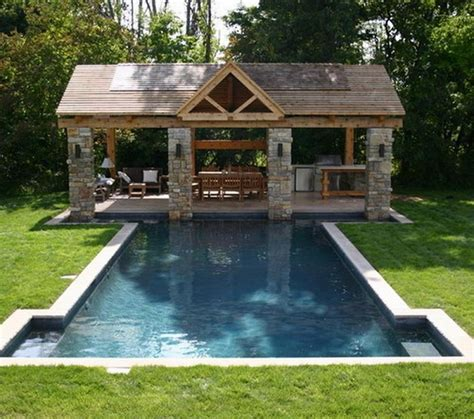 backyard pool designs triyae backyard designs pool outdoor kitchen