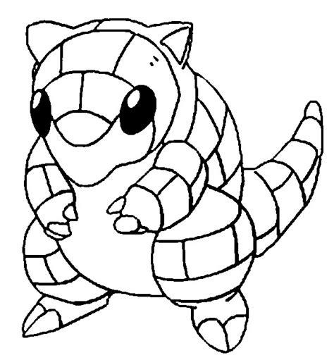 pokemon coloring pages golurk dibujos para colorear pokemon sandshrew dibujos pokemon