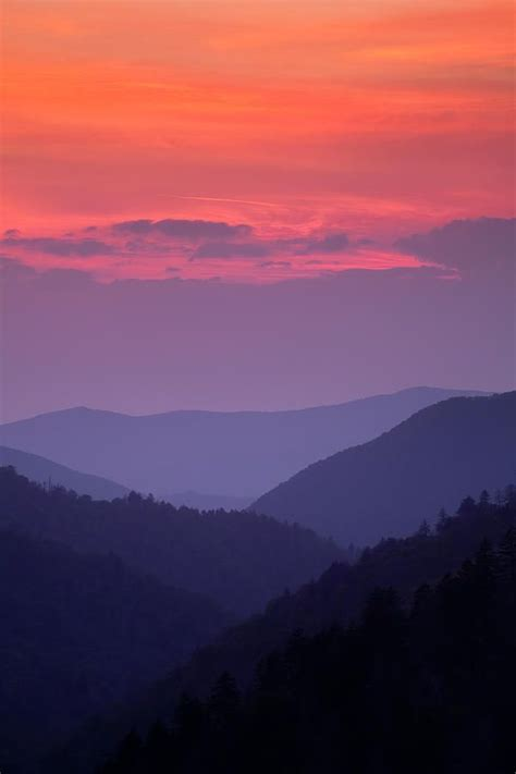 image result  colors  sunset mountains tn