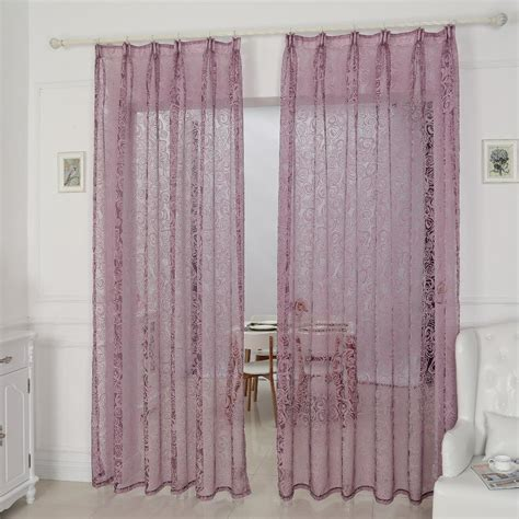 decorative curtain kitchen window cheap curtains fabrics tulle organza modern