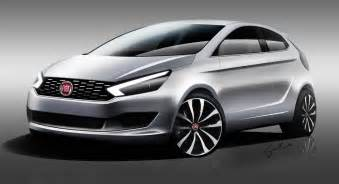 Fiat Punto 2017 Fiat Punto 3 Door Concept Rendering Indian Autos