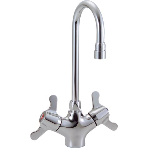 Delta Faucets Commercial by Delta Commercial 25c3837 Ss Mix Faucet W Lever Handle