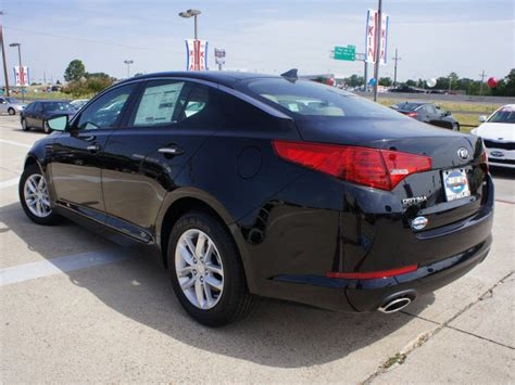 Black 2013 Kia Optima Kia Optima 2013 Black Sedan Lx Gasoline 4 Cylinders Front
