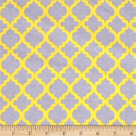 grey yellow flannelland bella grey yellow discount designer fabric