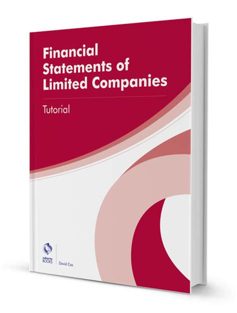 financial reporting book financial statements of limited companies tutorial