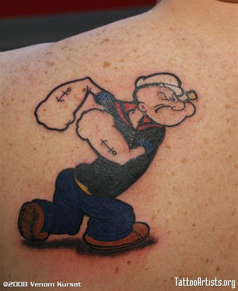 popeye tattoos popeye artists org