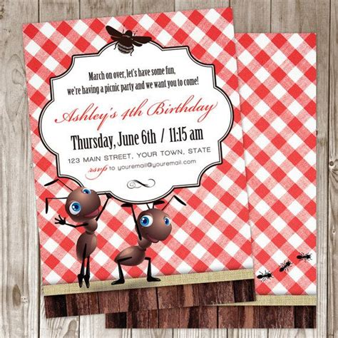 Come With Me Picnic Invite by 25 Best Ideas About Picnic Invitations On