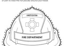 fireman hat template printable fall worksheets free printables education