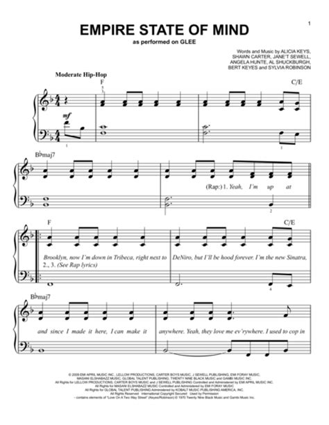 tutorial piano empire state of mind download digital sheet music of alicia keys for piano solo