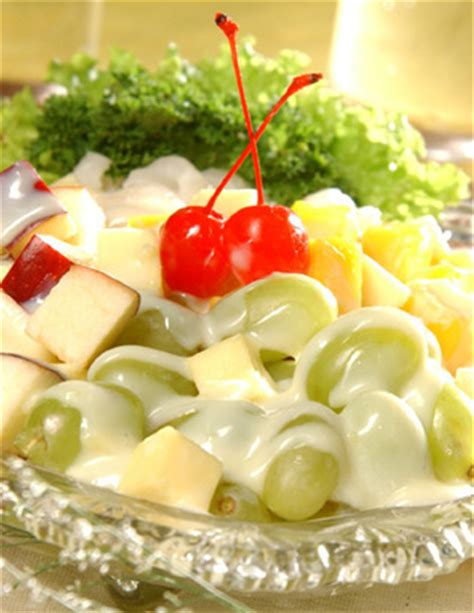 cara membuat salad buah mayo resep membuat salad buah keju mayonaise enak resep harian