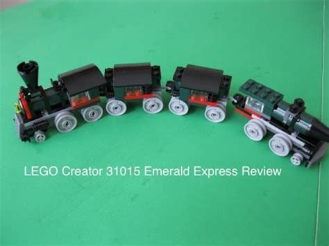 Lego Creator 31015 Emerald Express lego creator 31015 emerald express review