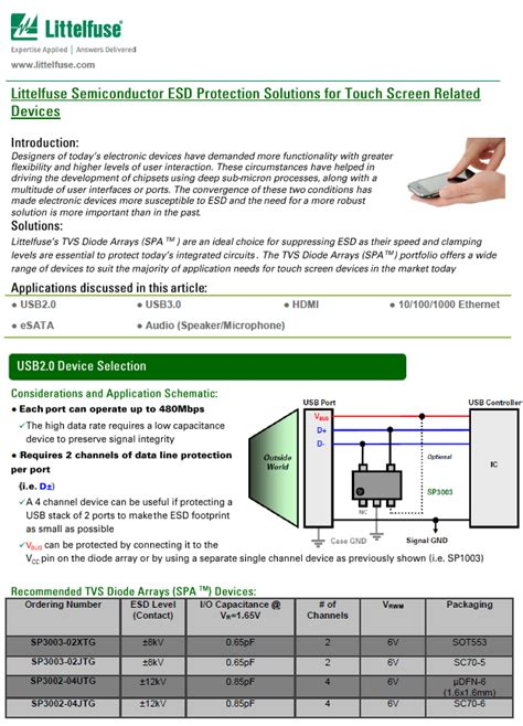 esd diode selection guide tvs diode tutorial 28 images how data diode works 28 images diagram of an electron tvs
