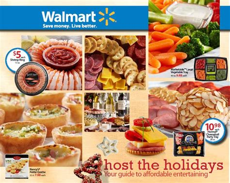 holiday entertaining  walmart frugal upstate