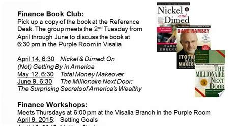 money mastery sense of money for a difference books tulare county library news and events money sense