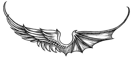 demon wings tattoo drawings wing ideatattoo