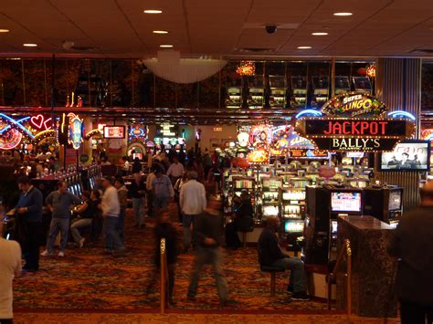 Main Casino Floor Bally S Ac The Walkin Dude Ballys Ac Buffet