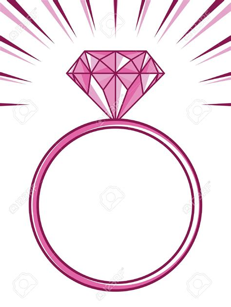 engagement ring clipart clipart wedding ring pencil and in color