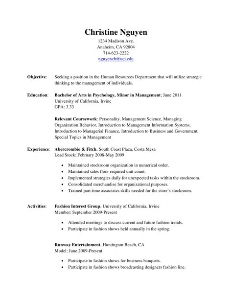 Hair Stylist Career Objective For Resume by Resume