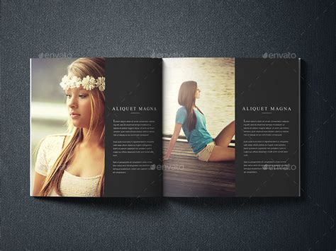photography brochure template photographer portfolio brochure template by shapshapy