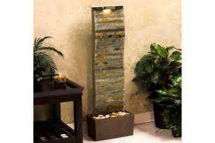 modern wall fountains for tranquil interior decorating and