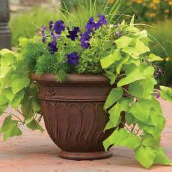 better homes and gardens romano planter sizes