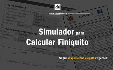 calculadora de finiquitos 2016 en excel calculadora de finiquitos y liquidaciones 2016 calculo de
