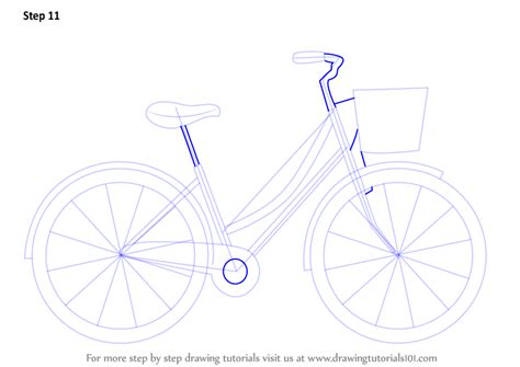 construct 2 bike tutorial step by step how to draw a cute bicycle