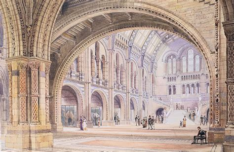 design museum london facts design drawing for the natural history museum london 1878
