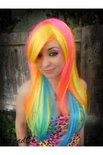 bright hair color the world s catalog of ideas