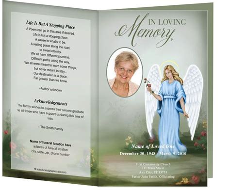 Obituary Card Template by 218 Best Images About Creative Memorials With Funeral