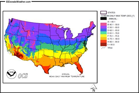 current temperature map of usa united states yearly monthly daily maximum temperatures