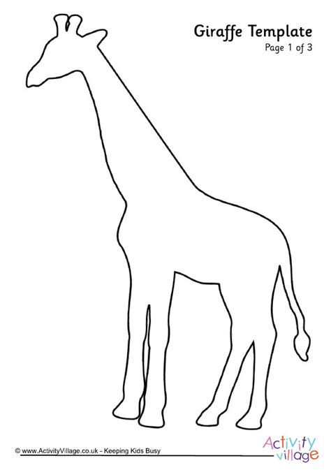 printable giraffe templates drawn giraffe template pencil and in color drawn giraffe