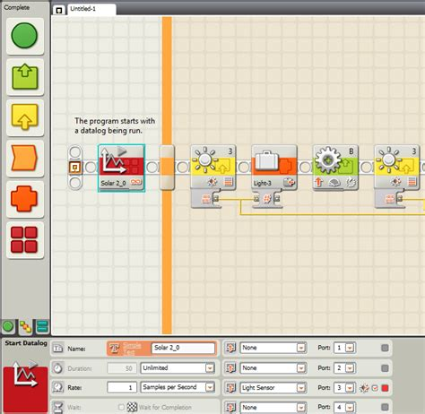 labview tutorial lego mindstorm programming a nxt solar tracking station discussion