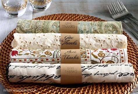 How To Make Paper Napkin Rings - 20 stylish diy thanksgiving napkin rings for a gorgeous