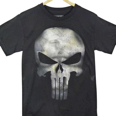 T Shirt Punisher Logo punisher t shirt grey logo from beltsbucklestees