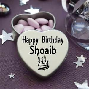 happy birthday shoaib mini heart tin gift present for shoaib with chocolates
