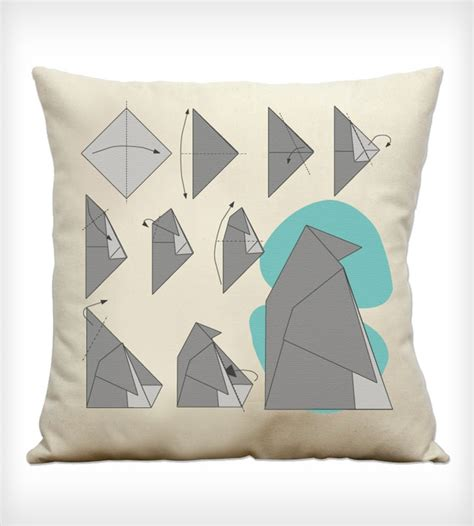 How To Make A Paper Pillow - penguin origami pillow