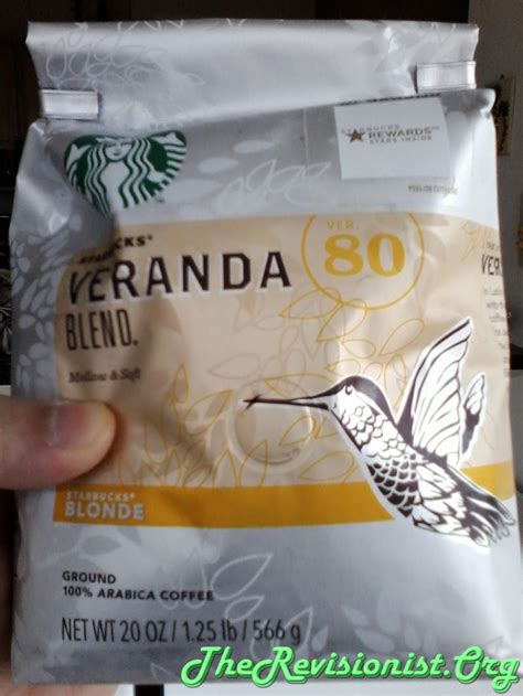 Blended The Coffee Bean review of starbuck s veranda blend blond roast coffee the revisionist