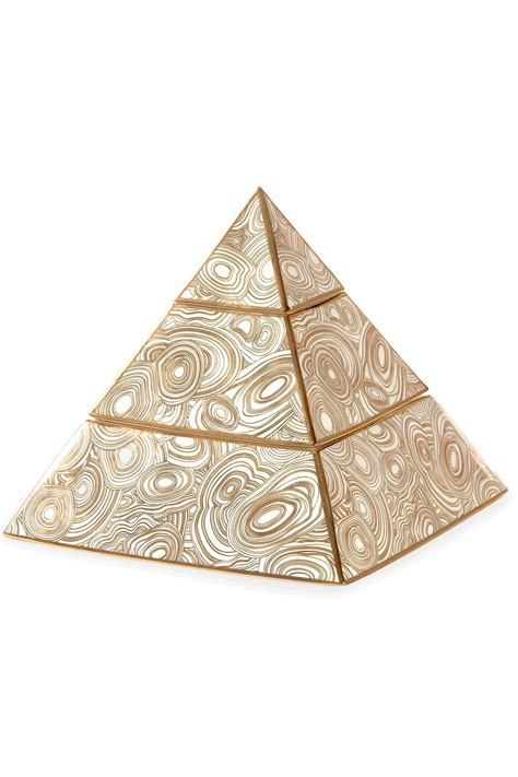 decorative objects for the home jonathan adler pyramid stacking box from texas by rendr