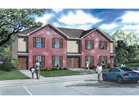 fourplex house plans donoho place 2 story fourplex plan 055d 0401 house plans